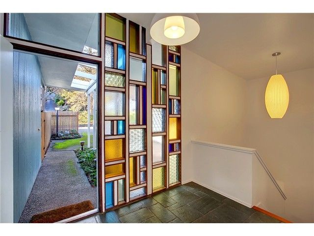 Entryway. Secret Design Studio Knows Mid Century Modern Architecture.  Www.secretdesignstudio.com