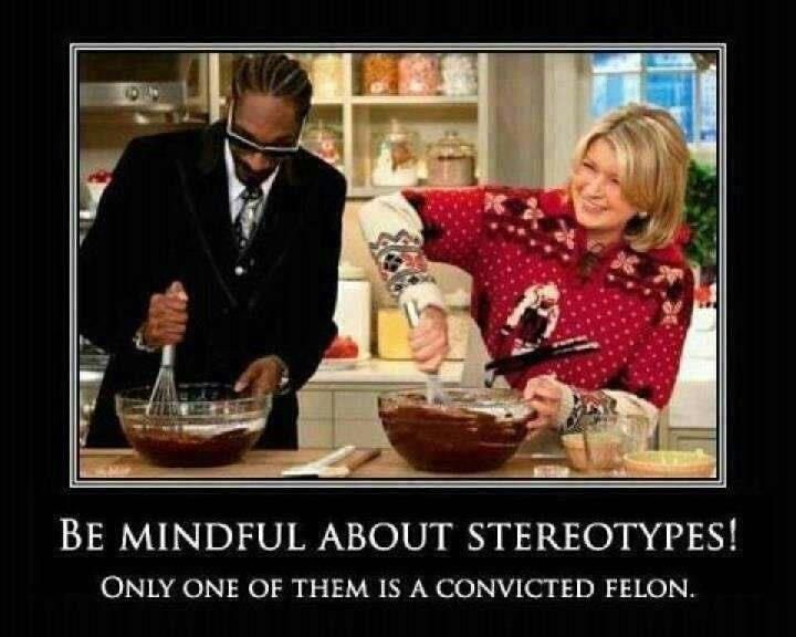 Don't stereotype!  Snoop Dogg!!