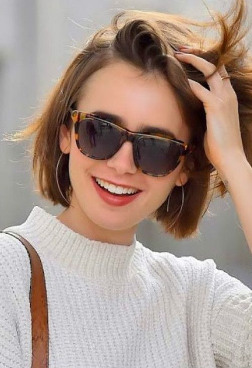 61+ Best Short Bob Haircuts for Women 2018 - #Bob #Haircuts #Short #shorthair #Women #shortbobhairstyles