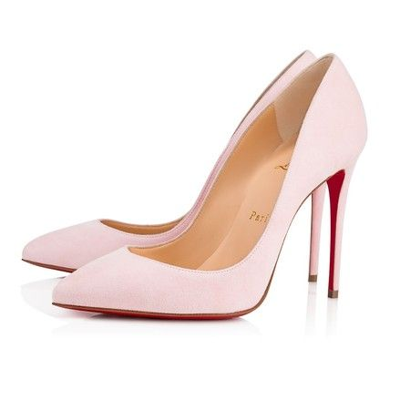 11c24abf840 These Christian Louboutin Pink Pigalle Follies 100 Pompadour Suede Classic  Stiletto Heel Pumps Size EU 39 (Approx. US 9) Regular (M