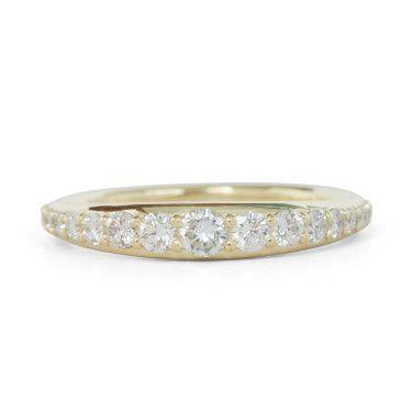 Bali Diamond Ring By Catbird Ny Perfect Modern Wedding Bands Follow Kwhbridal