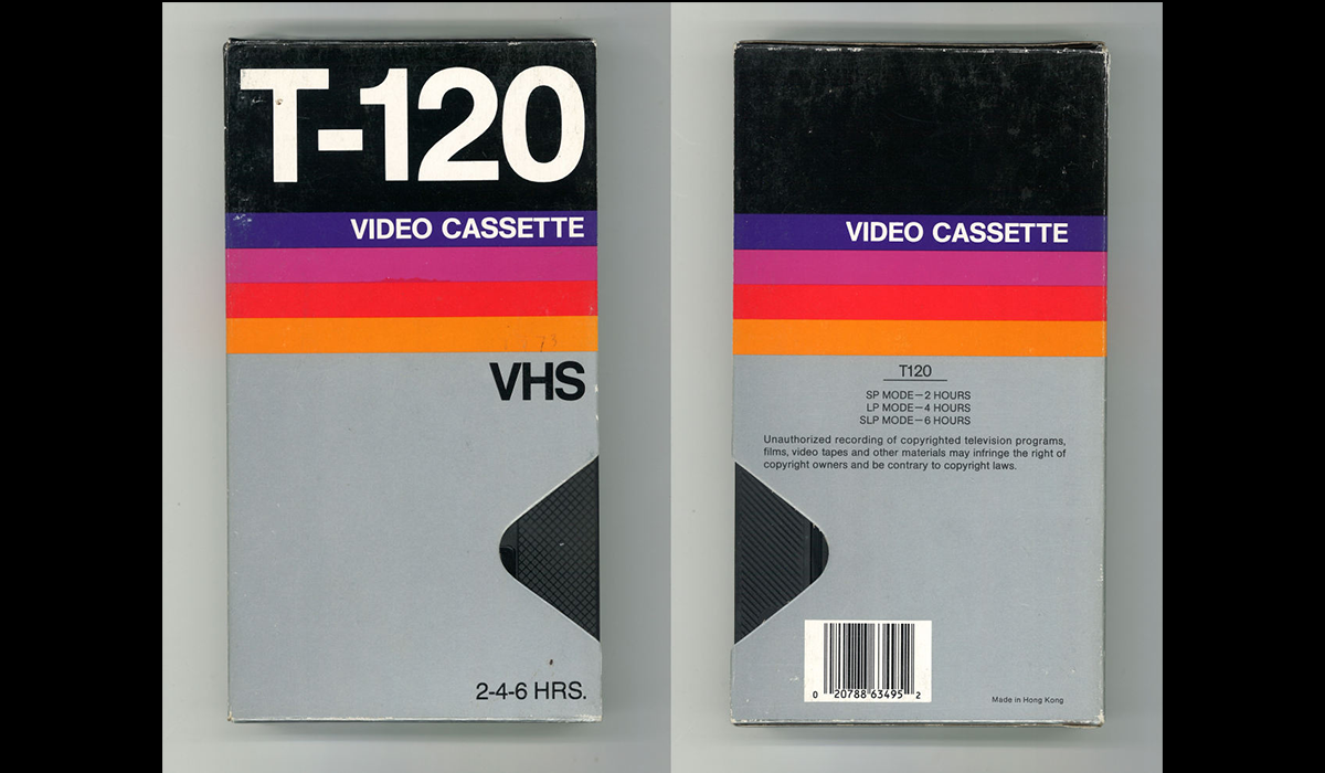From Ignored Ubiquity To Design Classic The Art Of The Blank Vhs Tape Packaging Design Trends Vintage Graphic Design Vhs Cassette