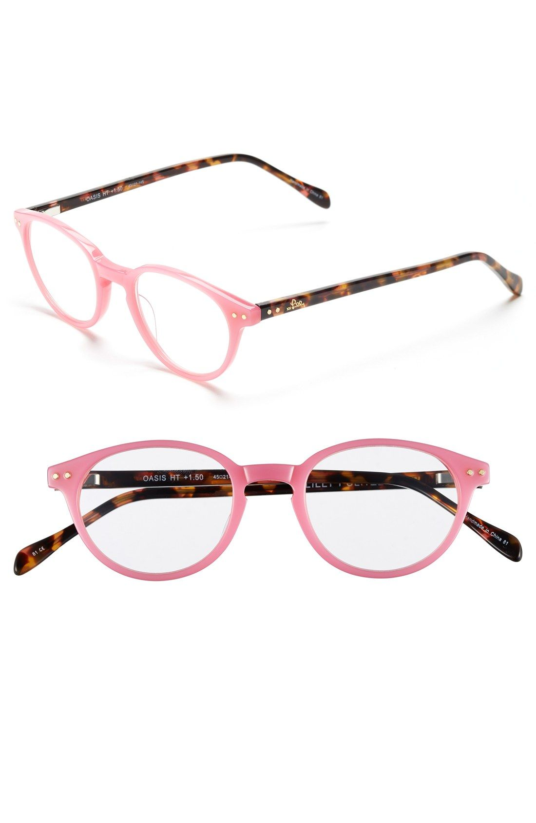 In love with this chic Lilly Pulitzer reading glasses in tortoise ...