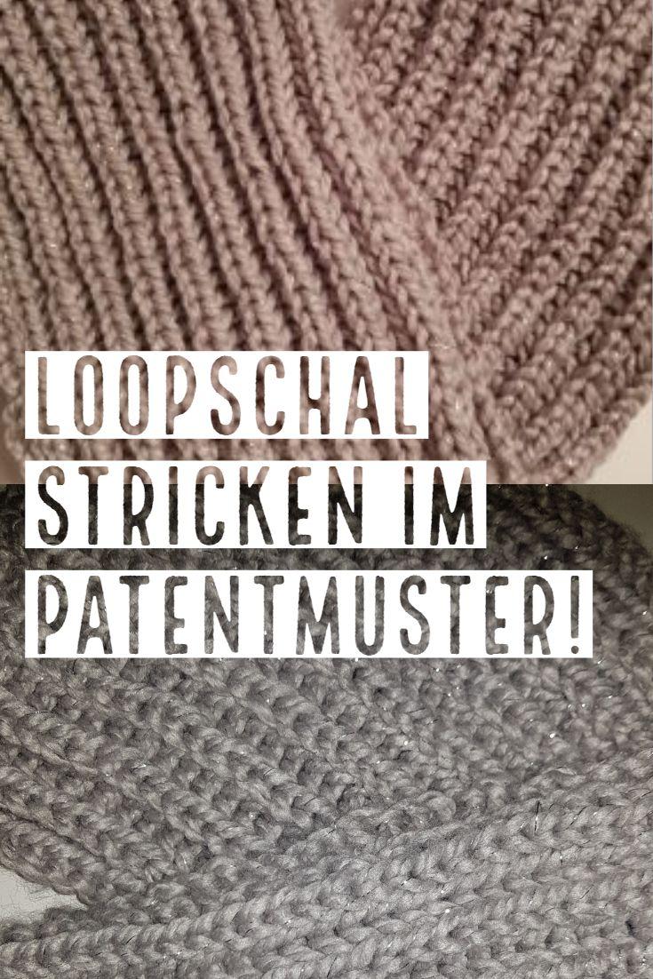 Photo of Einen einfachen Schlaufenschal stricken
