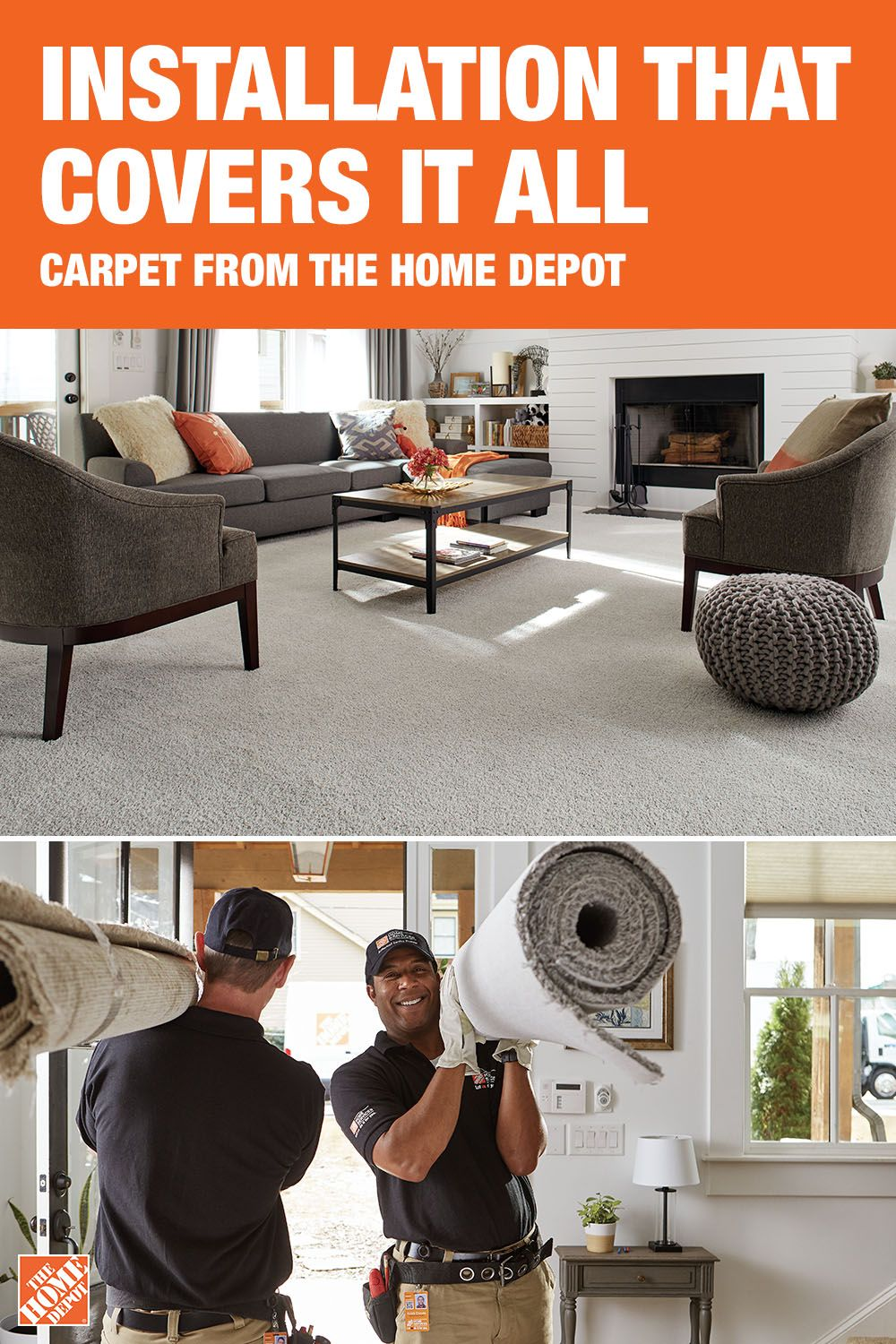 From measuring your space to removing your old carpet the