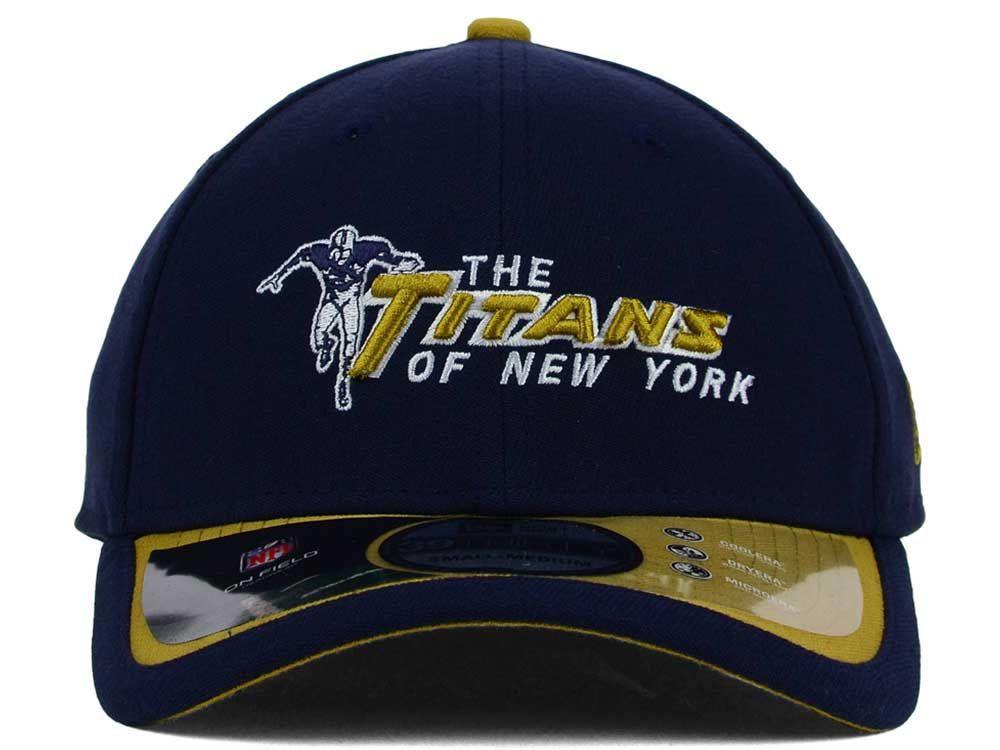 NFL New Era 39Thirty Titans of New York Cap Size Small Medium NY Jets 3930  Hat  NewEra  BaseballCap  NewYorkJets 758259a3d