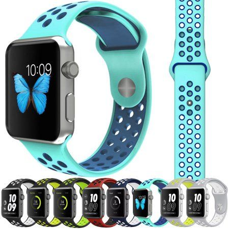 M/L Soft Silicone Nike+ Sports Strap For Apple Watch Band