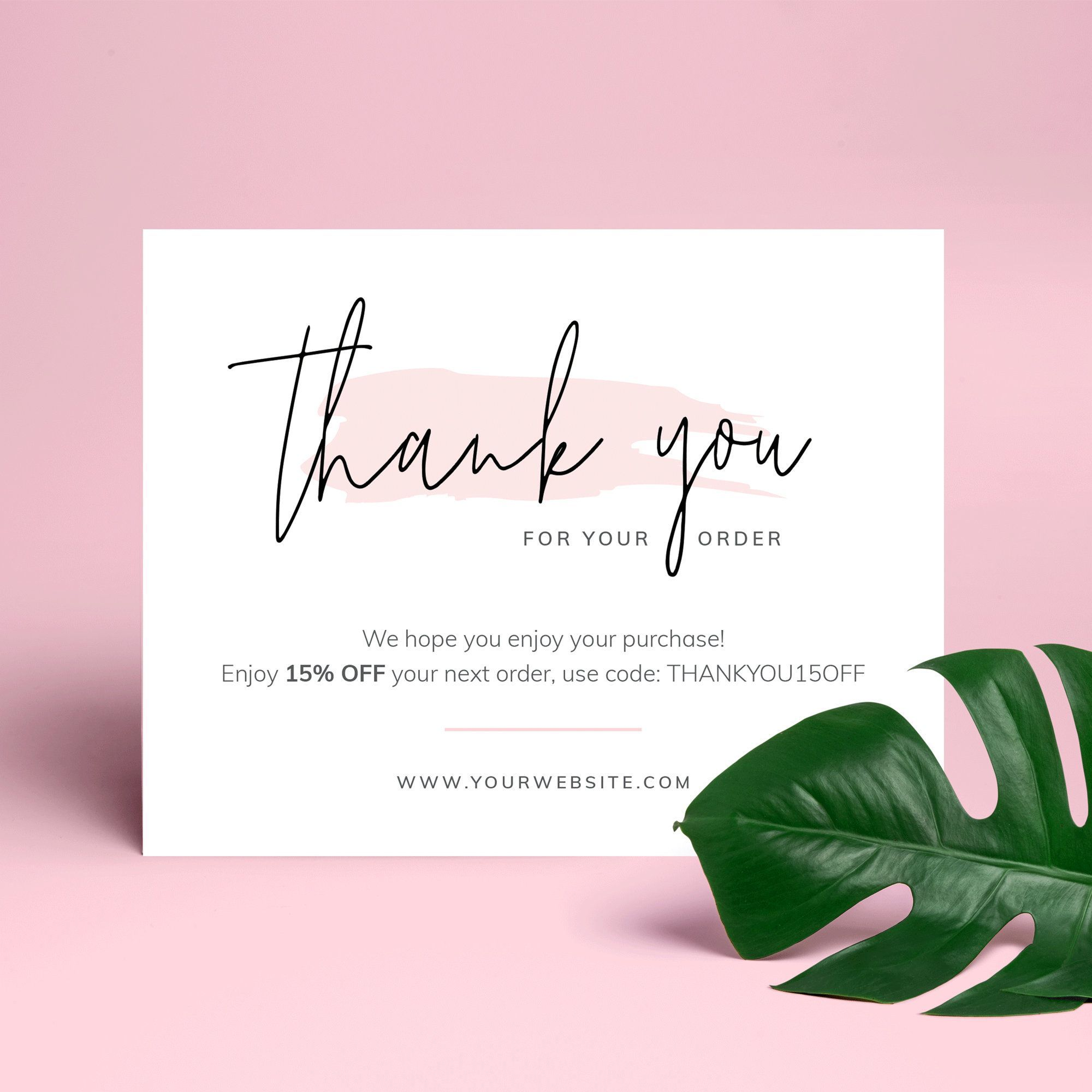 Business Danke Kartenvorlage Vielen Dank Fur Ihre Bestellung Paket Vielen Dank Dass Thank You Card Design Thank You Card Template Business Thank You Cards