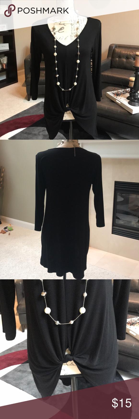 Nwot black dresscasual shirt my posh picks pinterest dress