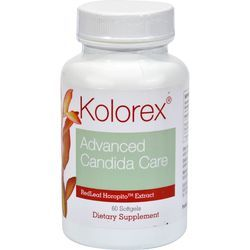 $ - kolorex-advanced-candida-care-60-softgels - Processed foods, beverages and stress sometimes affect the microbial balance…