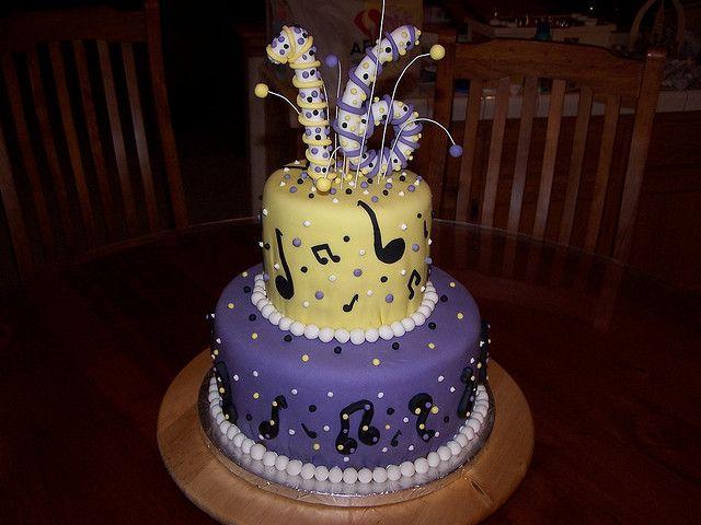 16th birthday music cake Just Cakes Pinterest Birthday music
