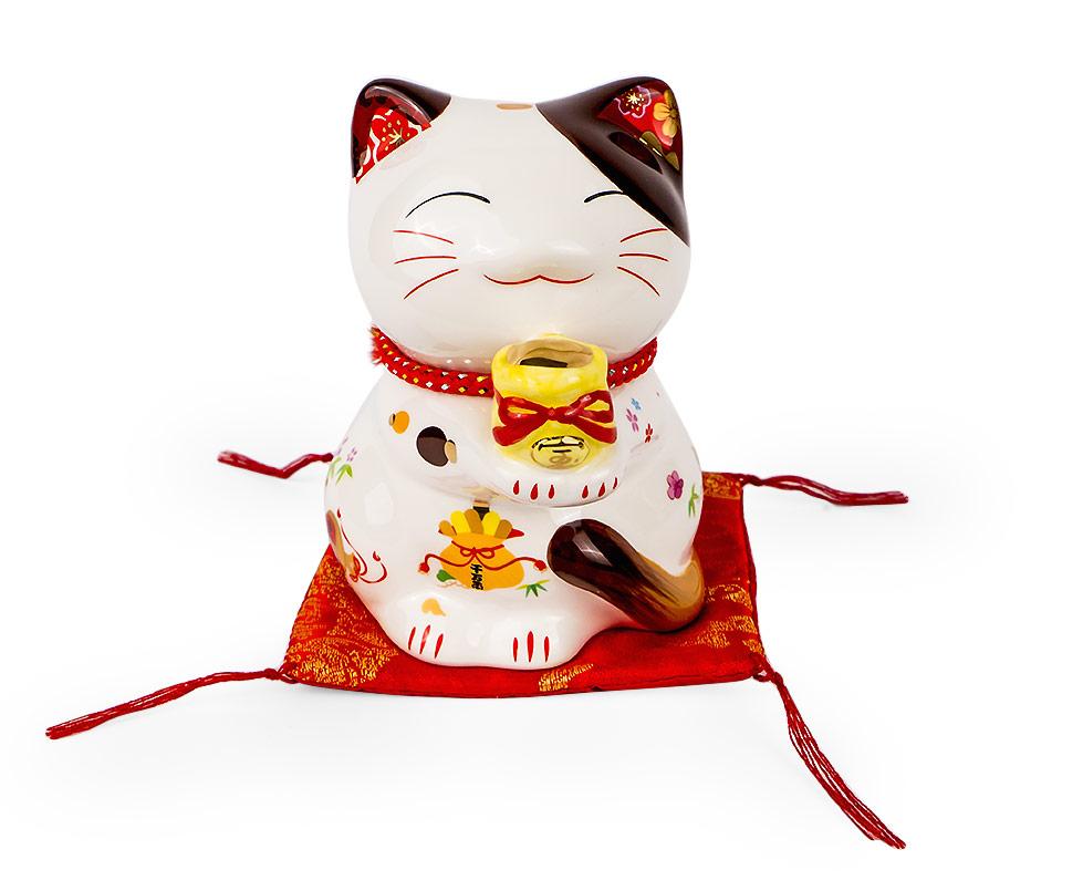 Skarbonka Japonski Kot Szczescia Kotek Figurka Christmas Ornaments Olaf The Snowman Novelty Christmas