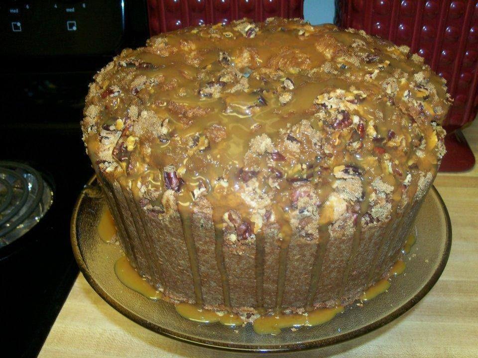 Caramel pecan pound cake recipes