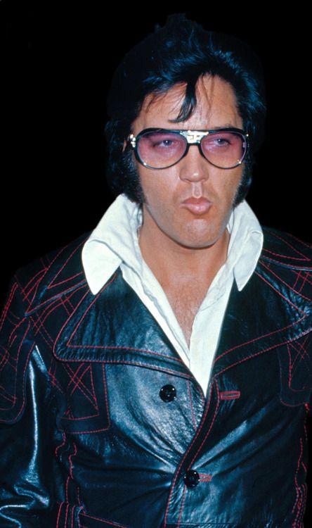 Elvis Presley in Los Angeles, CA on May 11, 1974
