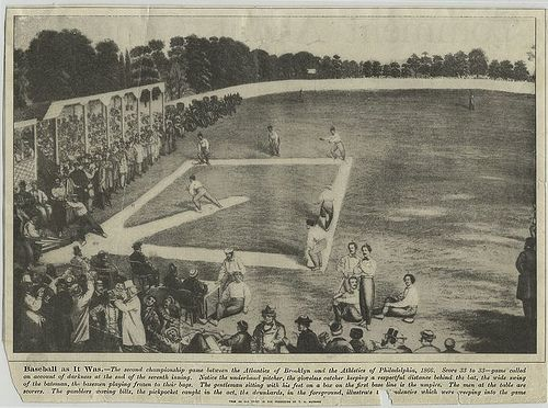 Baseball as it was -- second championship game between the A... | Flickr - Photo Sharing!