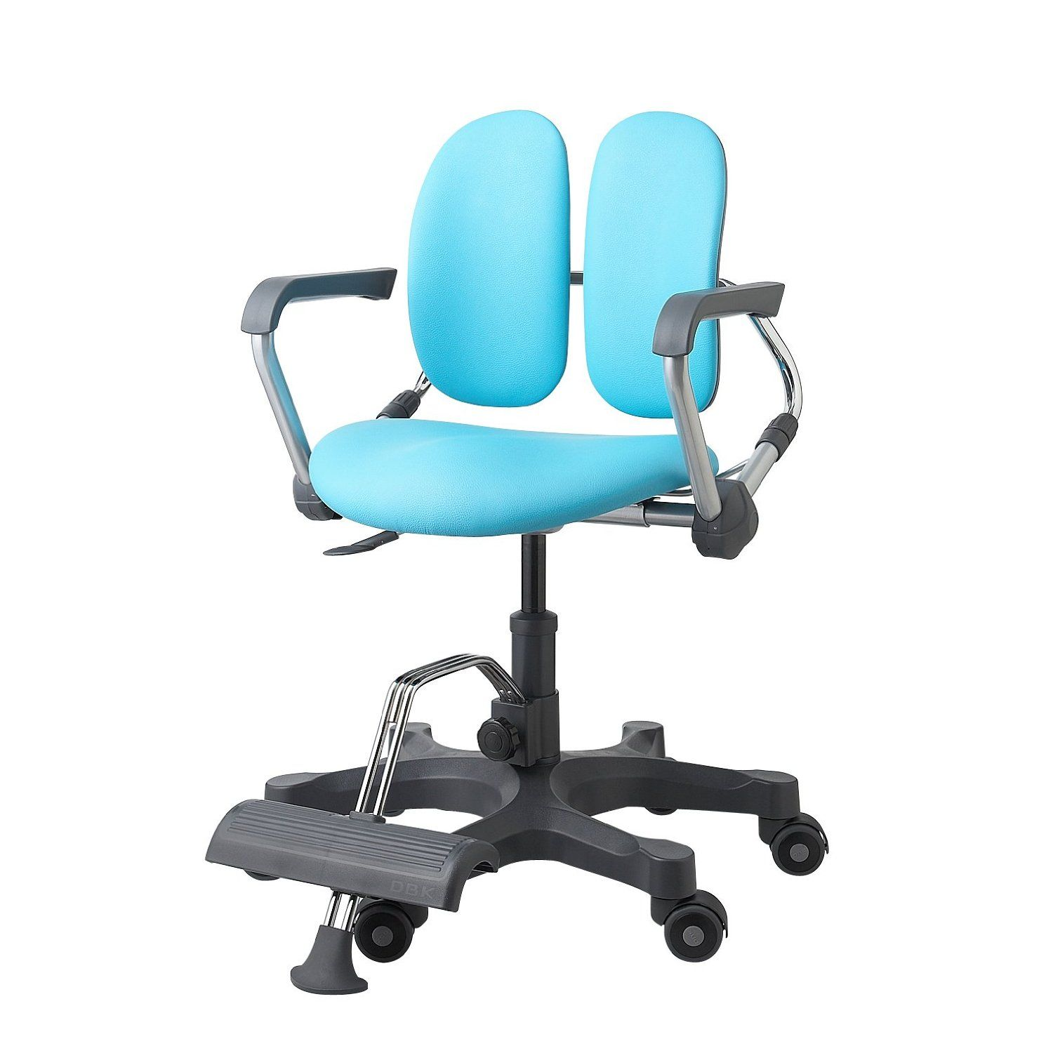 Statuette Of Kid Desk With Chair Design