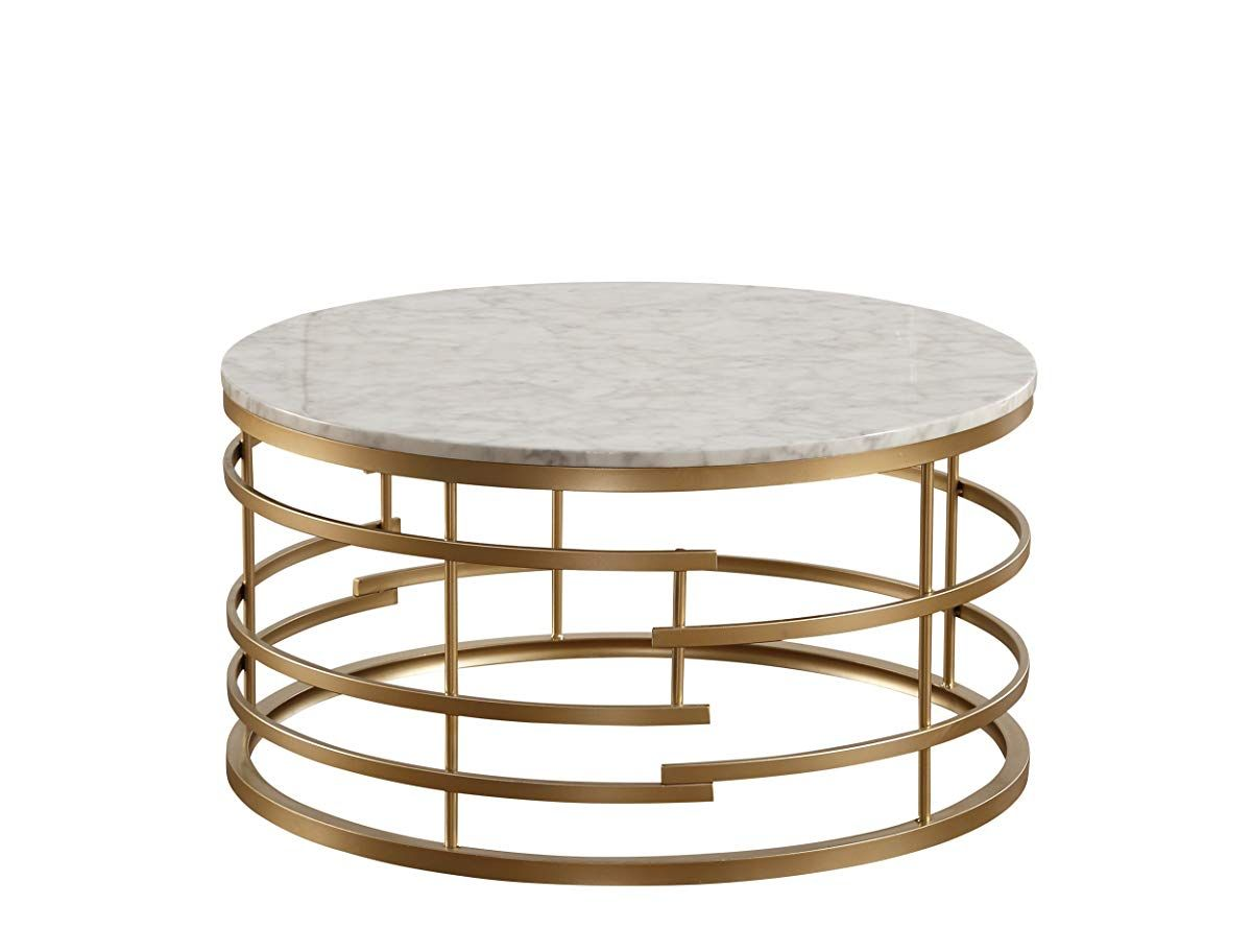 Round Faux Marble Top Coffee Table Gold Faux Marble Coffee Table Round Gold Coffee Table Gold Coffee Table [ 912 x 1200 Pixel ]
