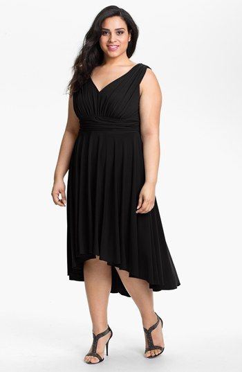 Suzi Chin For Maggy Boutique Highlow Jersey Dress Plus Online