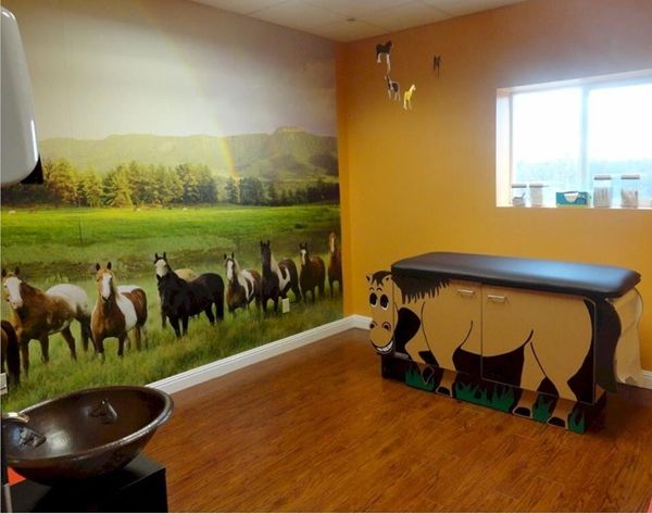 we love how this pediatricians office is designed! http://www