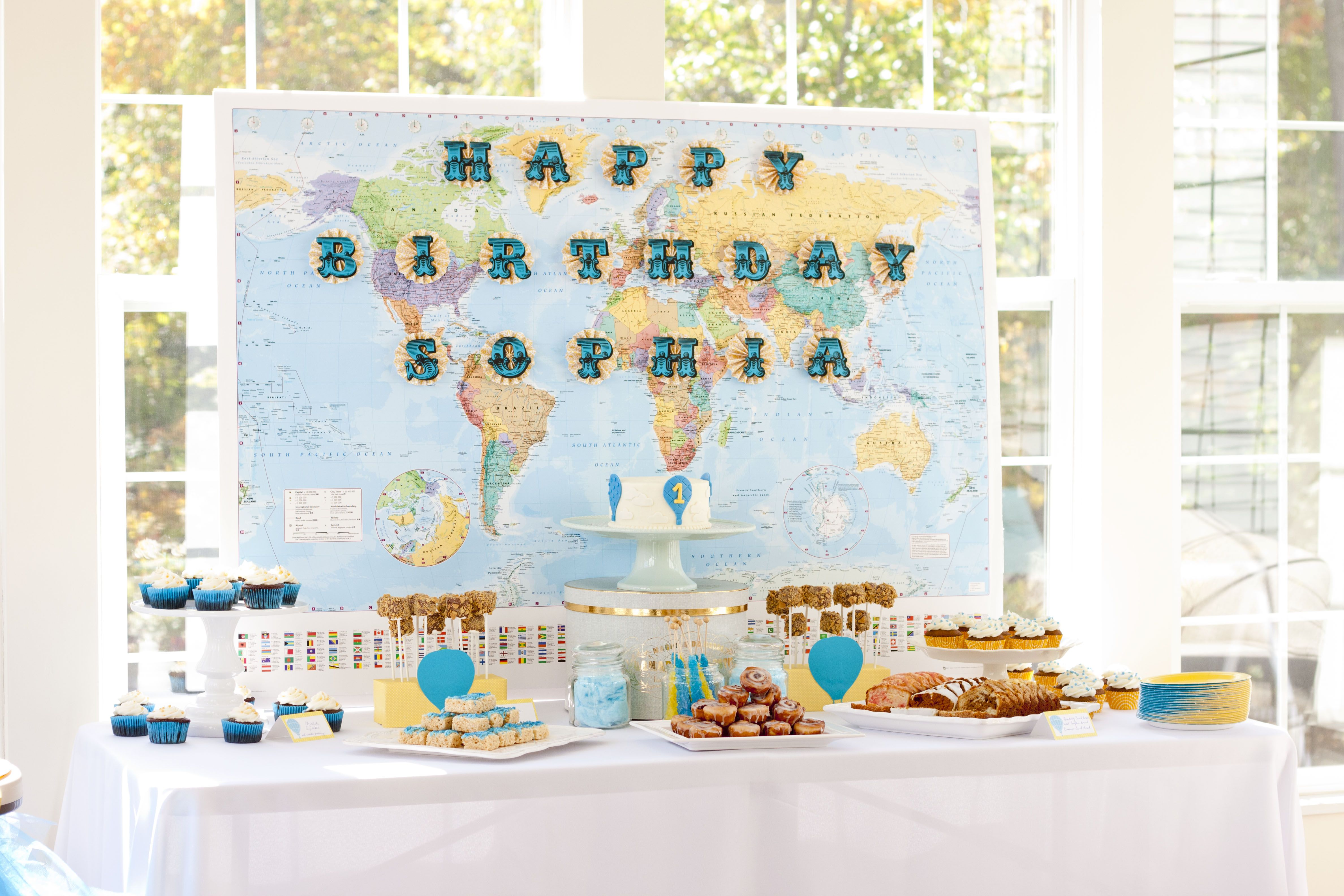 Sweets table for her 1st birthday party | My Style | Pinterest