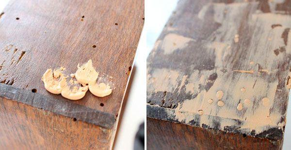 Como Acabar Con Las Termitas En La Pared Como Eliminar La Carcoma Reparar Muebles De Madera Polilla De