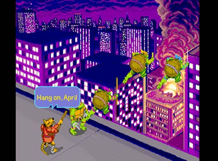 Teenage Mutant Ninja Turtles (Arcade)