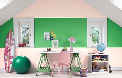 Sortiment Kinderzimmer farbe, Kinder zimmer und