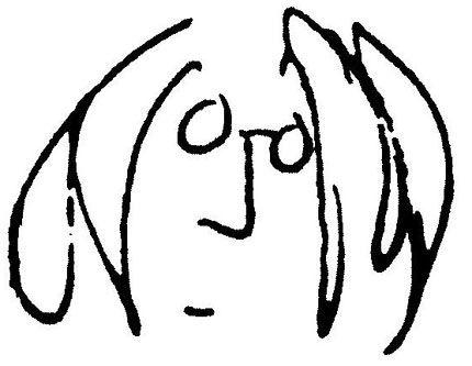 John Lennon - Self portrait