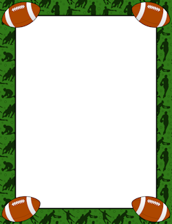 Rugby Border Frames Borders Pinterest Page Borders Clip Art