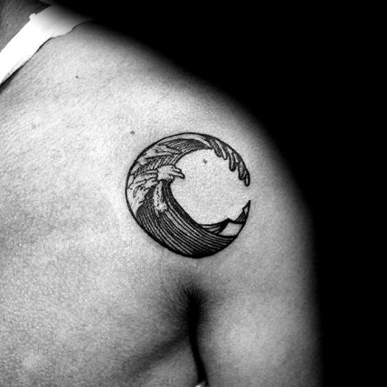 Photo of 50 Badass kleine Tattoos für Männer Coole kompakte Design-Ideen Beste Schulter-Tattoos …