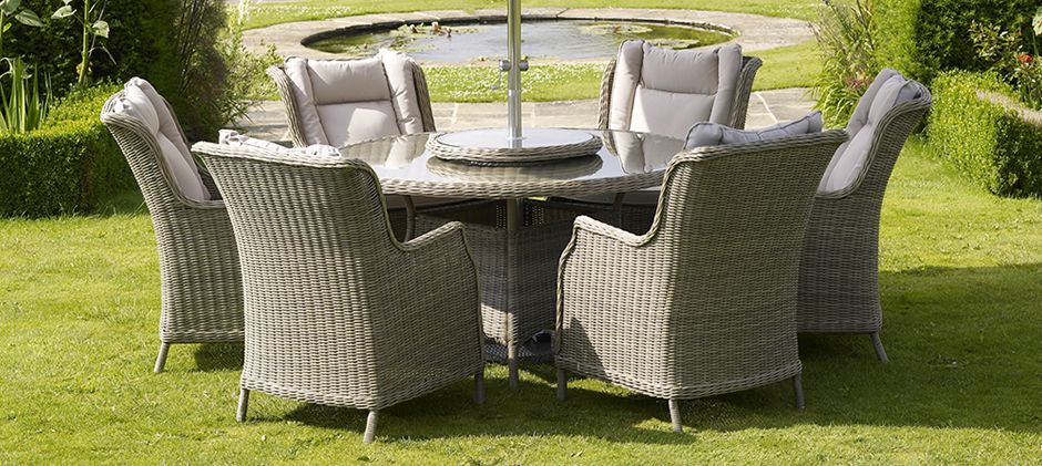 bramblecrest garden furniture the luxurious new oakridge woven range offers the ultimate in outdoor comfort - Garden Furniture Offers