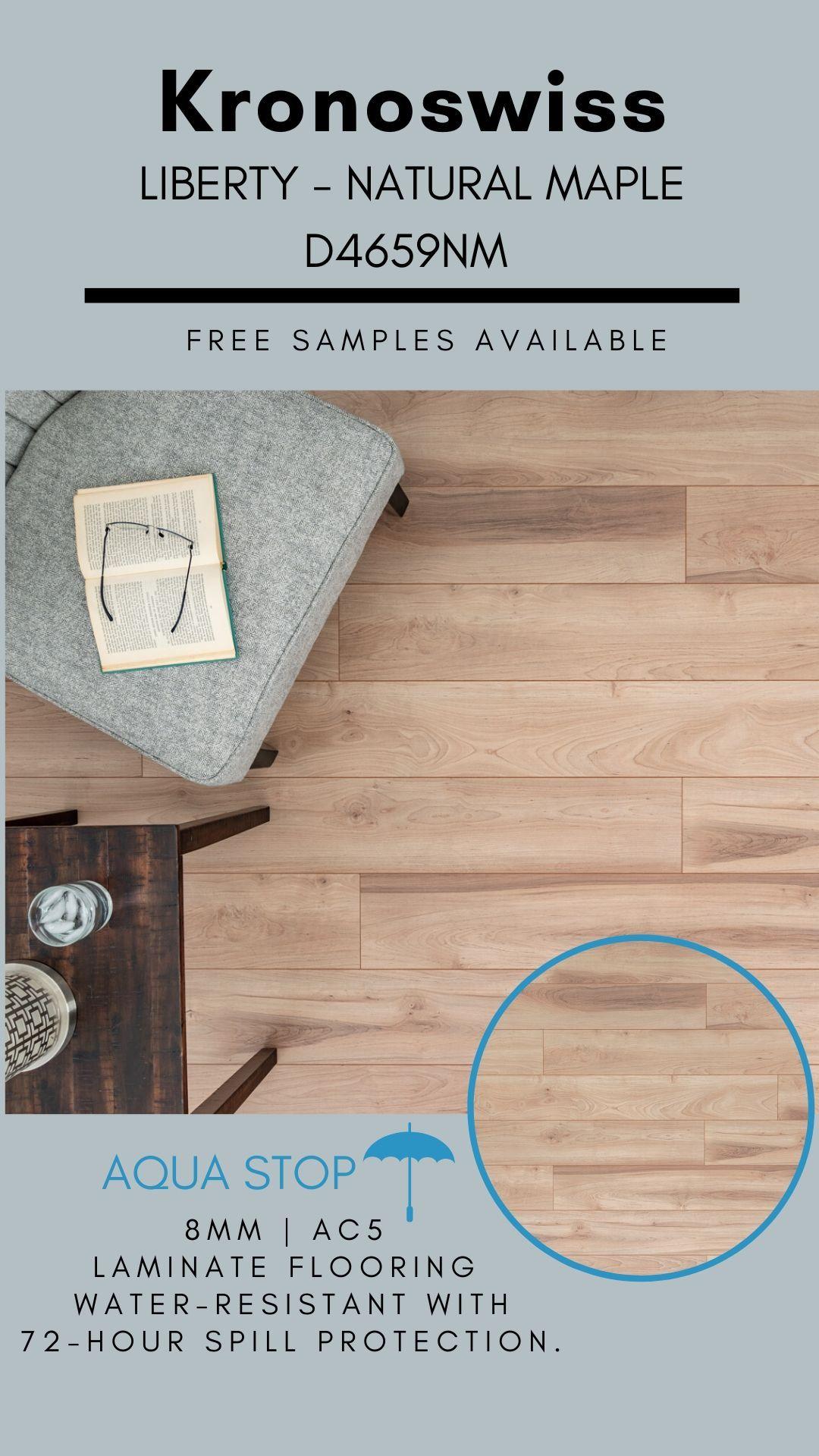 Kronoswiss Liberty Natural Maple D4659pm Liberty Laminate Flooring In 2020 Laminate Flooring Maple Laminate Flooring Laminate