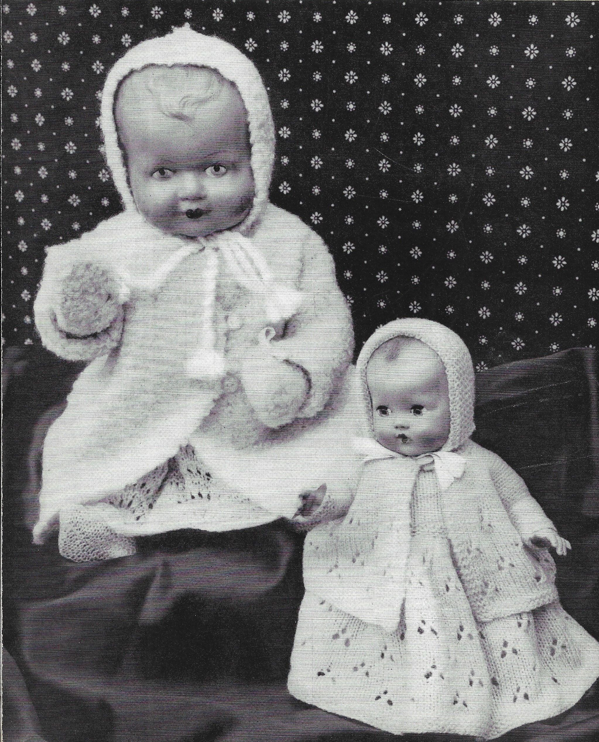 Old Lee Target Dolls Outfit, dolls outfit to knit, dolls clothes ...