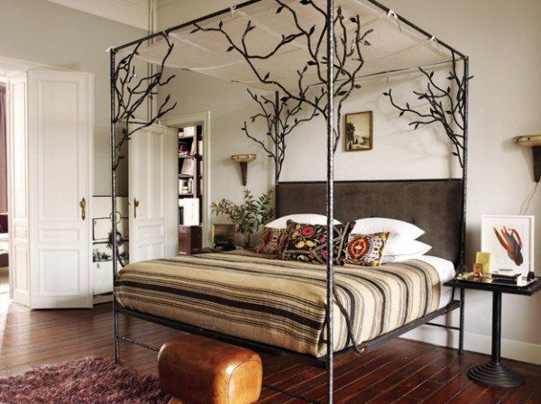 gorgeous canopy bed frames modern bedroom furniture ideas four - Poster Bedroom Sets