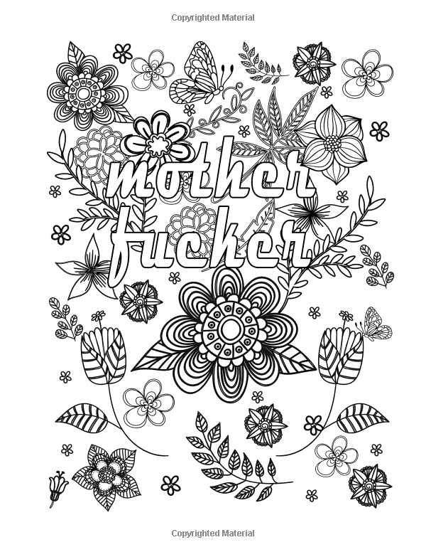 Amazon.com: Swear Words Coloring Book : Adults Coloring