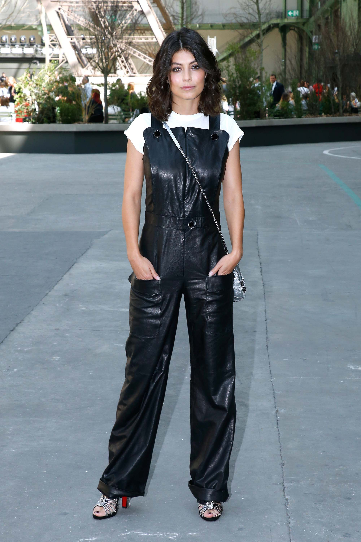 Alessandra Mastronardi attends Chanel show  809e4ac4739