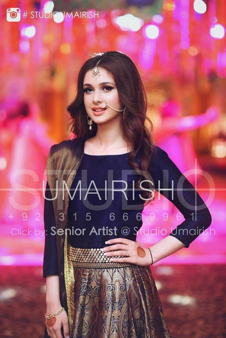 colour combination unique pakistani fancy dresses for weddings