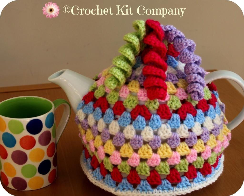 Granny Treble Tea Cosy Crochet Pattern To Fit 6 Cup Tea Pot Free P