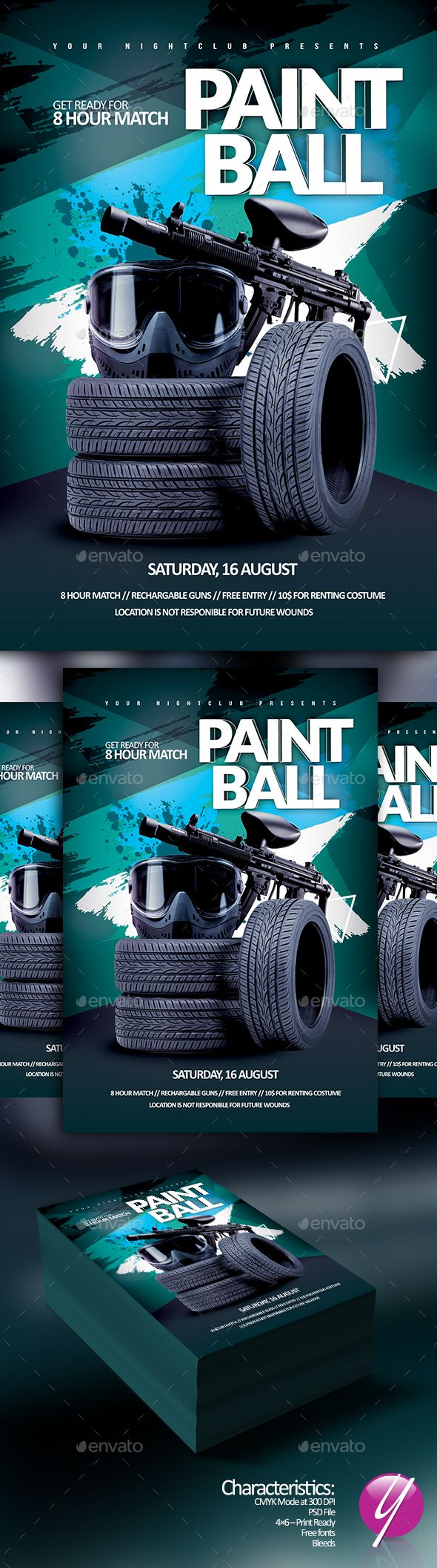 paintball match event paintball event flyers and event flyer