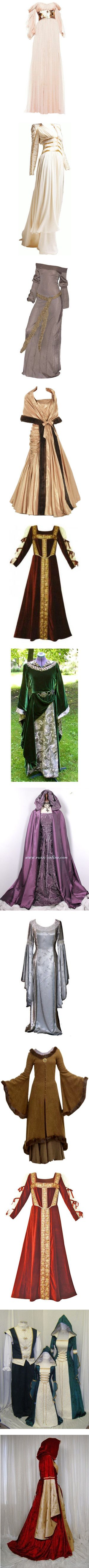 """""""Narnia Clothes :)"""" by starstruck4ever - Game of Thrones/Legend of Zelda cosplay anyone?<--OMG they're so pretty!"""