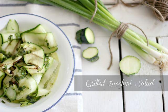 Craftberry Bush: Grilled zucchini salad