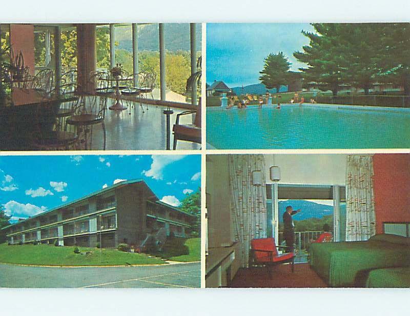 The Terrace Motel Ellenville Ny Mid 20th Century