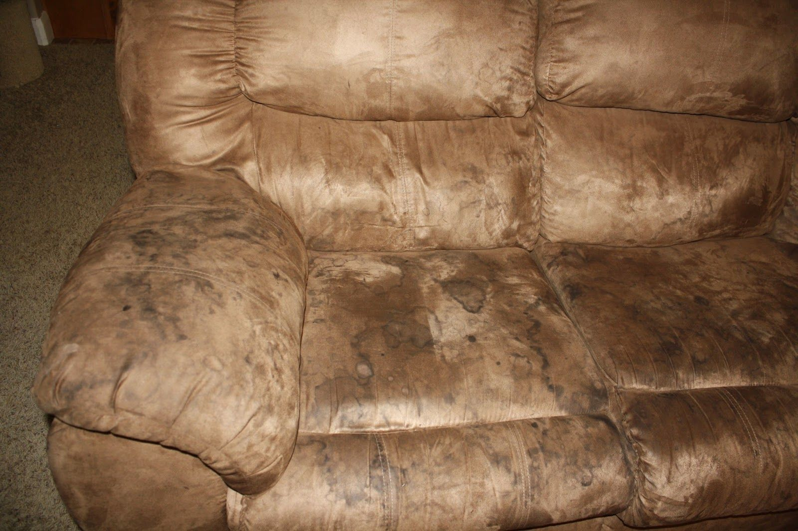 Wondrous How To Clean Microfiber Couches And Get The Water Spots Out Pdpeps Interior Chair Design Pdpepsorg