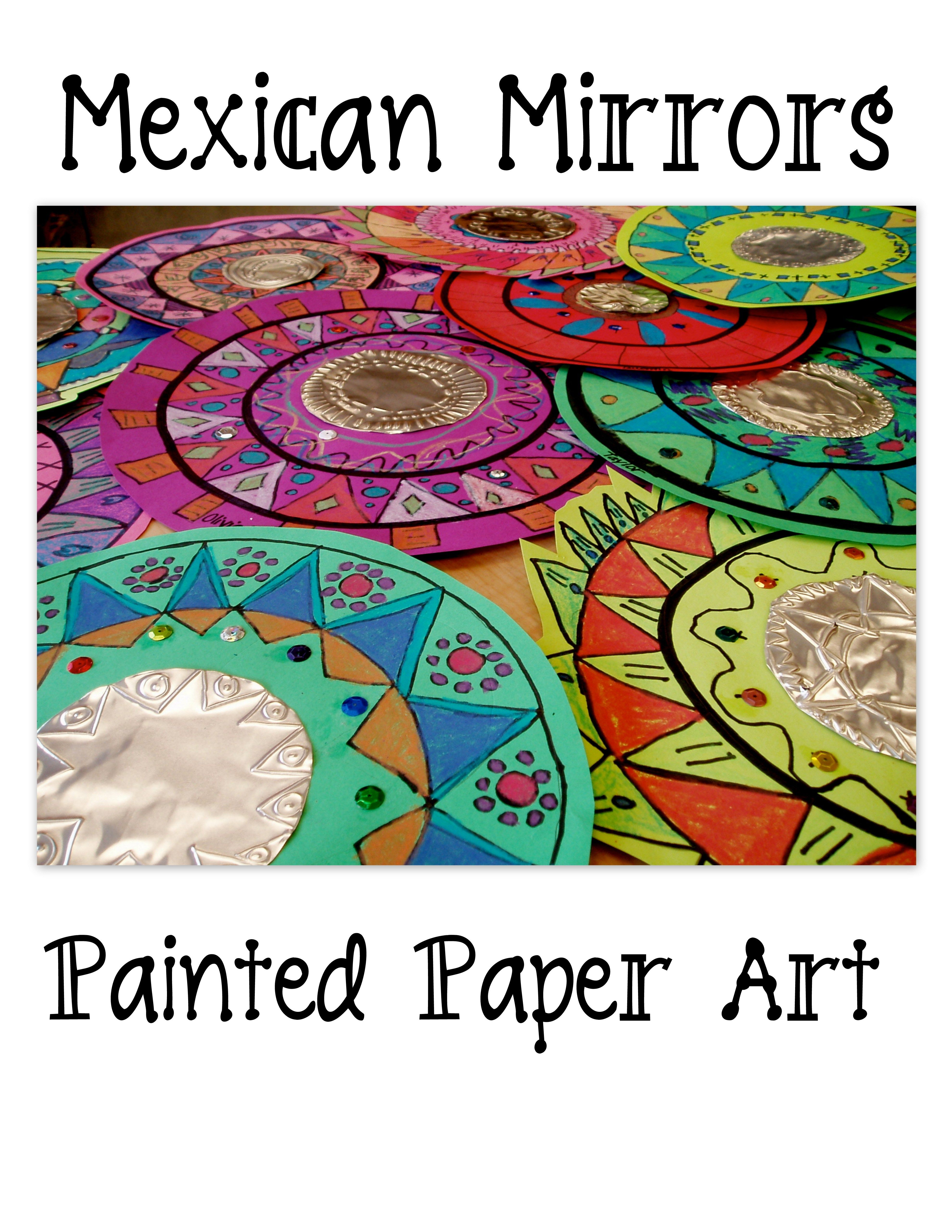 Mandala painted designs with copper tooling addition for Cool art ideas for kids