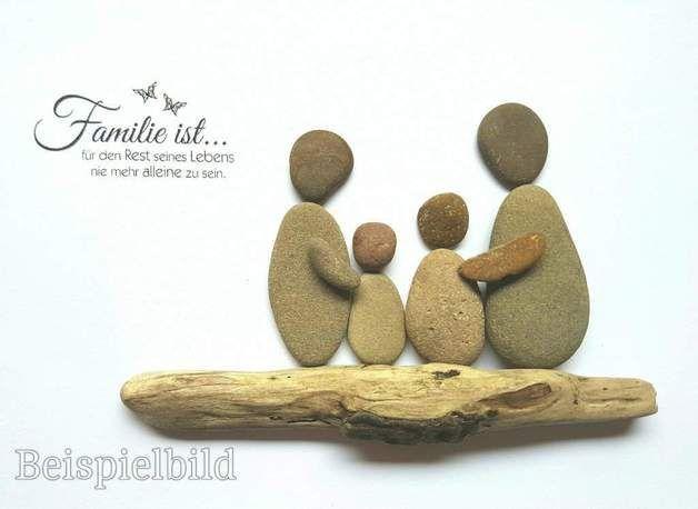 Ganz individuell nach Ihren Wünschen lege ich für Sie ein Bild aus Kieselstein... #steinbilderselbermachen