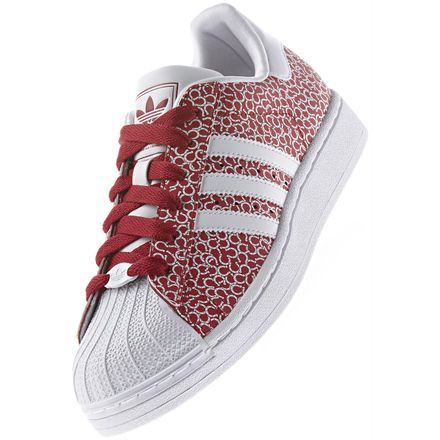 wholesale dealer 9c46c dfc02 Tenis Superstar ll, Red Beauty   Running White   Red Beauty