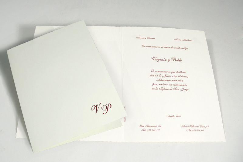 101588 invitaciones de boda originales de catálogo