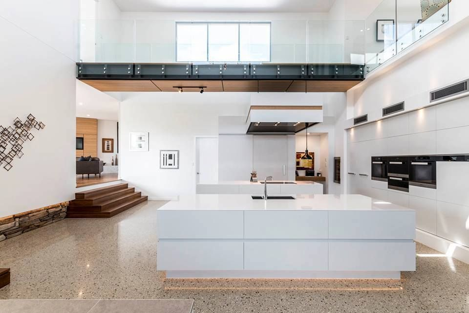 Silestone Blanco Zeus Gives Cleanliness And Purity To This Impressive Urban  Space. A Minimalist Air That Seduces. #architecture #interiordesign    Pinterest ...