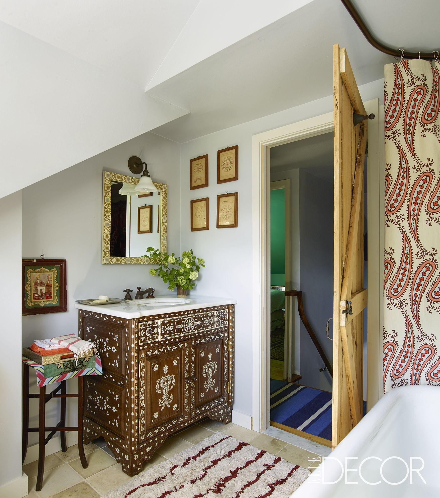 This Is The Most Beautiful Bathroom: This Is By Far The Most Colorful Country Home We've Ever