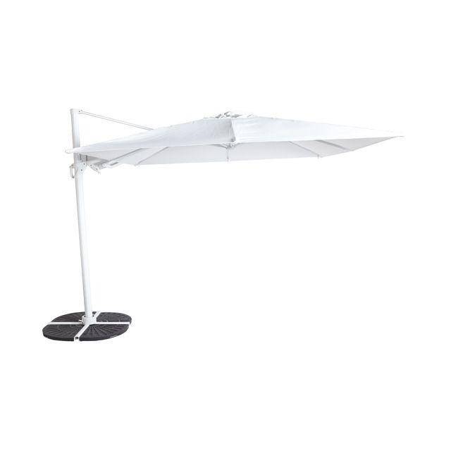 parasol d port blooma astor blanc 300 cm parasols and awnings. Black Bedroom Furniture Sets. Home Design Ideas